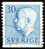 Postage stamp Sweden 1951 King Gustaf VI Adolf — Stock Photo