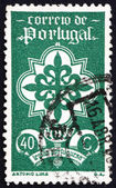 Postage stamp Portugal 1940 Emblem of Portuguese Legion — Stock Photo