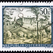 Stock Photo: Postage stamp Austri1990 Vorau Abbey, Styria