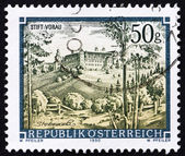 Postage stamp Austria 1990 Vorau Abbey, Styria — Stock Photo