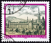 Postage stamp Austria 1989 Monastery of Mehrerau, Vorarlberg — Stock Photo
