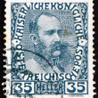 Postage stamp Austri1908 Franz Josef in middle Age, Emperor of — Stock Photo #14658895
