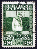 Postage stamp Austria 1908 Franz Josef, Emperor of Austria — Stock Photo