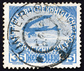 Postage stamp Austria 1915 Airplane — Stock Photo