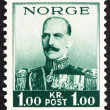 Postage stamp Norway 1937 King Haakon VII — Stock Photo