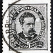 Postage stamp Portugal 1883 King Luiz, King of Portugal — Stock Photo
