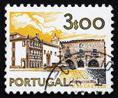 Timbre-poste portugal 1972 misericordia maison, viana do castelo — Photo