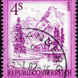 Postage stamp Austria 1973 Aimsee, Upper Austria — Stock Photo