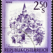 Stock Photo: Postage stamp Austri1974 Murau, Styria