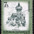 Stock Photo: Postage stamp Austri1973 Falkenstein Castle, Carinthia