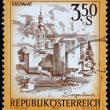 Postage stamp Austria 1978 Easter Church, Oberwart — Stock Photo