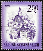 Postage stamp Austria 1974 Murau, Styria — Stock Photo