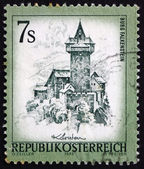 Postage stamp Austria 1973 Falkenstein Castle, Carinthia — Stock Photo