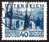 Postage stamp Austria 1929 Innsbruck — Stock Photo
