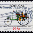 Stock Photo: Postage stamp Portugal 1986 Benz, Automobile Centenary