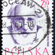 Postage stamp Poland 1957 Dr. Benedykt Dybowski, Physician, Doct — Stock Photo #14832059