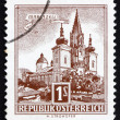 Postage stamp Austria 1957 Mariazell — Stock Photo