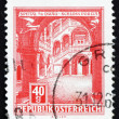 Postage stamp Austria 1962 Porcia Castle, Spittal on the Drau — Stock Photo