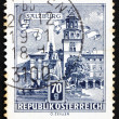 Postage stamp Austria 1962 Residenz Fountain, Salzburg — Stock Photo