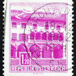 Postage stamp Austria 1962 Kornmesser House, Bruck on the Mur — Stock Photo
