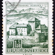 Postage stamp Austria 1967 Schatten Castle, Feldkirch, Vorarlber - Stock Photo