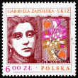 Postage stamp Poland 1978 Gabriela Zapolska, Polish Dramatist — Stock Photo #14833241