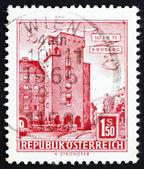 Postage stamp Austria 1958 Rabenhof Building, Erdberg, Vienna — Stock Photo