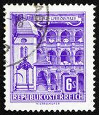 Briefmarke österreich 1960-kreisstadt, graz — Stockfoto