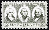 Postage stamp Poland 1973 Bicentenary of National Education Comm — Stock Photo