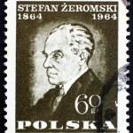 Postage stamp Poland 1964 Stefan Zeromski, Writer — Stock Photo