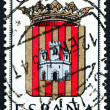 Postage stamp Spain 1962 Arms of Castellon de la Plana — Stock Photo
