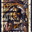 Postage stamp Spain 1969 Nativity, Bas-relief, Christmas — Stock Photo
