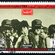 Postage stamp Yemen 1969 Reunited, Apollo XIII — Stock Photo