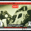 Postage stamp Yemen 1969 Pacific Ocean Rendezvous, Apollo XIII - Stock Photo