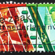 Royalty-Free Stock Photo: Postage stamp Netherlands 1989 Netherlands Postal Service