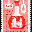 Postage stamp Canad1956 Chemical Industry — Stock Photo #15702119