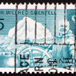 Stock Photo: Postage stamp Canad1965 Sir Wilfred Grenfell, Medical Missiona