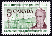 Postage stamp Canada 1962 Scottish Settler and Lord Selkirk — Stock Photo