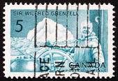 Postage stamp Canada 1965 Sir Wilfred Grenfell, Medical Missiona — Stock Photo