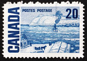 Postage stamp Canada 1967 The Ferry, Quebec — Stock Photo