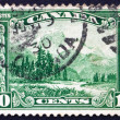Postage stamp Canada 1928 Mt. Hurd from Bell-Smith�s Painting — Stock Photo