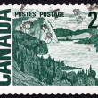 Stock Photo: Postage stamp Canad1967 Solemn Land, by MacDonald