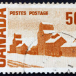 Postage stamp Canad1967 Summer's Stores, by Arthur John Ensor — Stock Photo #16266207