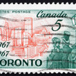 Postage stamp Canad1967 Toronto in 1967, Citizens of 1867 — Stock Photo #16266653