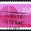 Stock Photo: Postage stamp Canad1970 Divided World