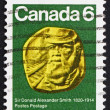 Stock Photo: Postage stamp Canad1970 Sir Donald Alexander Smith