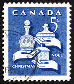 Postage stamp Canada 1965 Gifts of the Wise Men, Christmas — Stock Photo