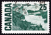 Postage stamp Canada 1967 The Solemn Land, by MacDonald — Stock Photo