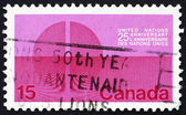Postage stamp Canada 1970 A Divided World — Stock Photo