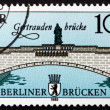 Postage stamp GDR 1985 Gertrauden Bridge, East Berlin — Stock Photo